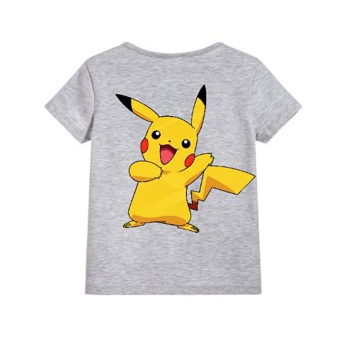 Grey Yellow Rabbit Kid's Printed T Shirt