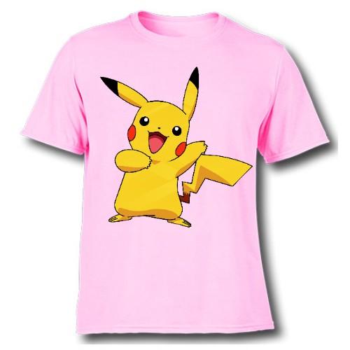 Pink Yellow Rabbit Kid's Printed T Shirt