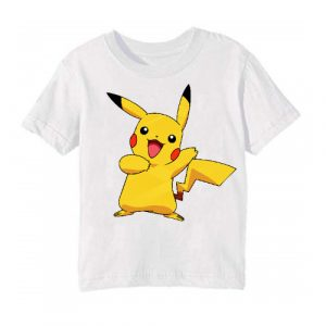 White Yellow Rabbit Kid's Printed T Shirt