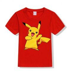 Red Yellow Rabbit Kid's Printed T Shirt