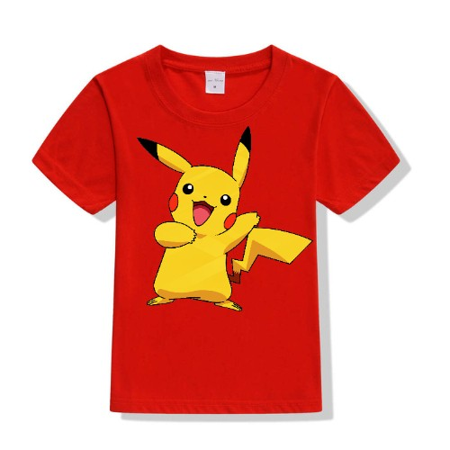 Red Yellow Rabbit Kid's Printed T Shirt