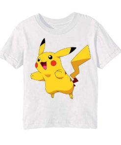 White blushing rabbit Kid's Printed T Shirt