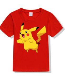 Red blushing rabbit Kid's Printed T Shirt