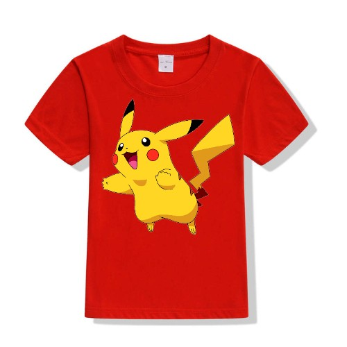 Red blushing rabbit Kid's Printed T Shirt