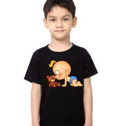 Black Boy baby with kid Kid's Printed T Shirt