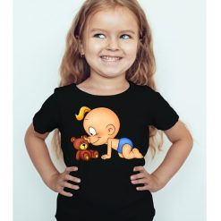 Black Girl baby with kid Kid's Printed T Shirt