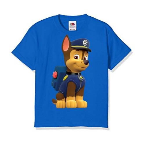 Blue Paw Patrol Dog Kid's Printed T Shirt
