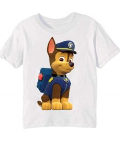 White Paw Patrol Dog Kid's Printed T Shirt