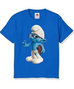 Blue Blue Gasper Kid's Printed T Shirt