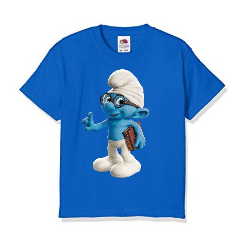 Blue Blue Gasper Kid's Printed T Shirt