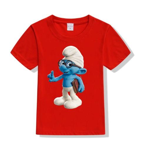 Red Blue Gasper Kid's Printed T Shirt