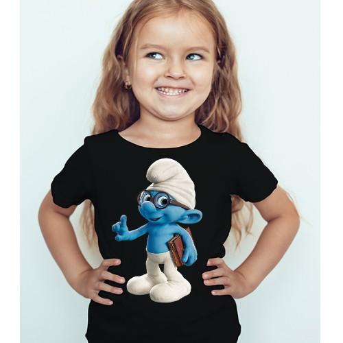 Black Girl Blue Gasper Kid's Printed T Shirt