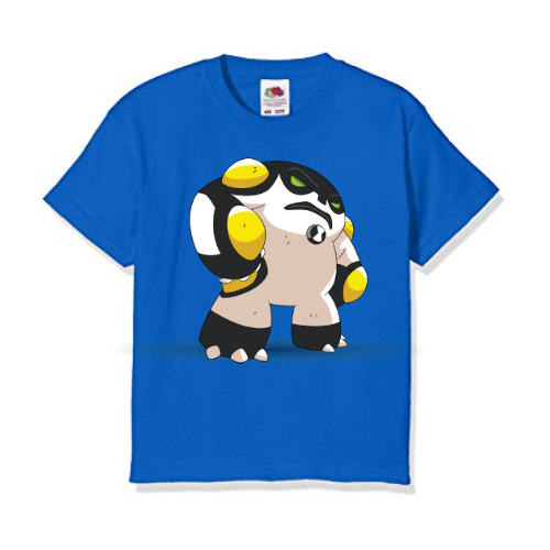 Blue boxing toy Kid's Printed T Shirt