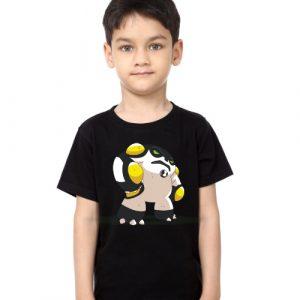 Black Boy boxing toy Kid's Printed T Shirt