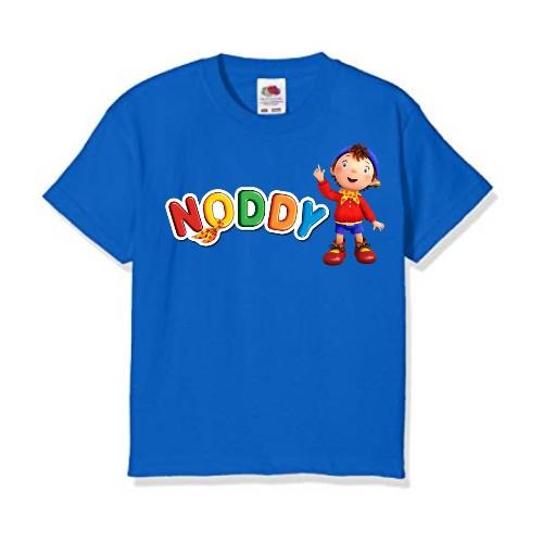 Blue No Daddy Kid's Printed T Shirt