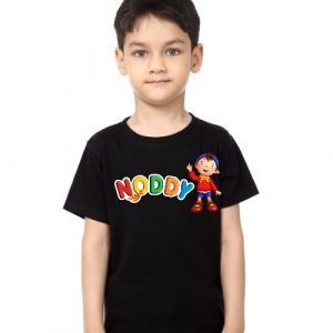 Black Boy No Daddy Kid's Printed T Shirt
