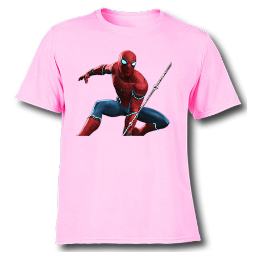faaac65e Buy Port Spiderman t shirt for girl|kids cartoon t shirts online ...