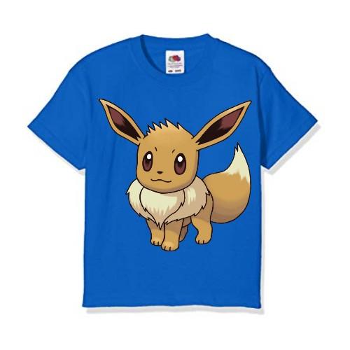 Blue Squirrel Kid's Printed T Shirt