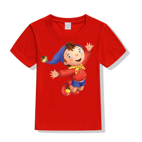 Red Flying Cartoon Kid's Printed T Shirt