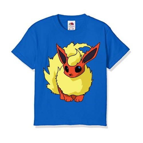 Blue Rabbit in Yellow Kid's Printed T Shirt
