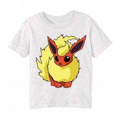 White Rabbit in Yellow Kid's Printed T Shirt