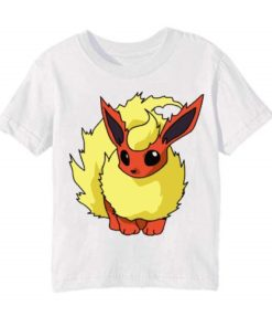 White Rabbit in Yellow Kid's Printed T Shirt