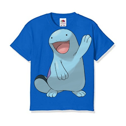 Blue Dolphin in Blue Kid's Printed T Shirt