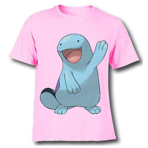 Pink Dolphin in Blue Kid's Printed T Shirt