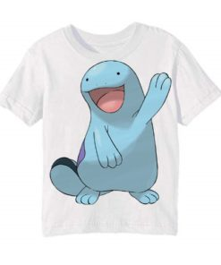 White Dolphin in Blue Kid's Printed T Shirt
