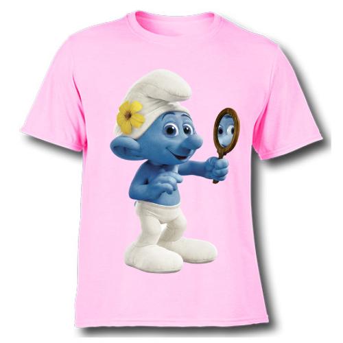 Pink Mirror Ghost Kid's Printed T Shirt