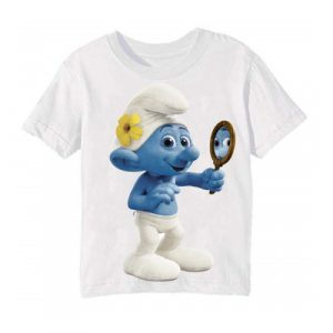White Mirror Ghost Kid's Printed T Shirt