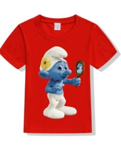 Red Mirror Ghost Kid's Printed T Shirt