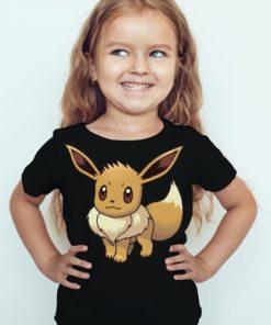 Black Girl Innocent Squirrel Kid's Printed T Shirt