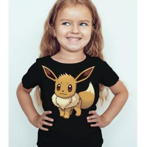 Black Girl Innocent Squirrel Kid's Printed T Shirt