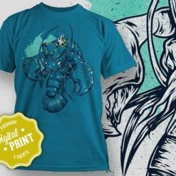Printe5 Sealife Lobster