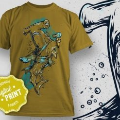 Printe5 Sealife Shark