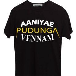 Aaniyea-Pudunga-Veenam-Black-T-Shirt