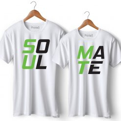 Soul Mate Printed Couple T-Shirt