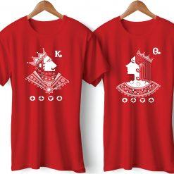 Begum Badshah Printed Couple T-Shirt