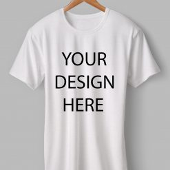 Customized Round Neck White T-Shirt | Printe5