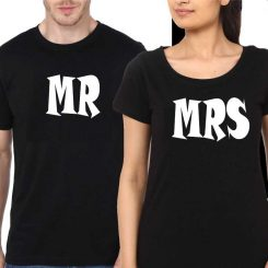 Couple-Black-T-Shirt-Mr-&-Mrs